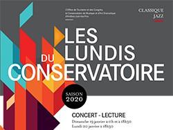 """Les lundis du Conservatoire 2020 - """"Quatre mains"""""""